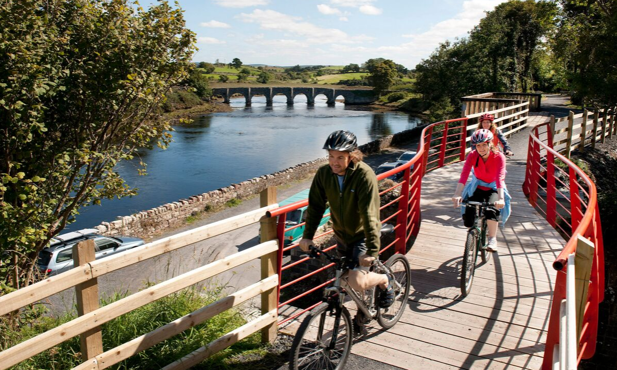 Cycling Great Western Greenway