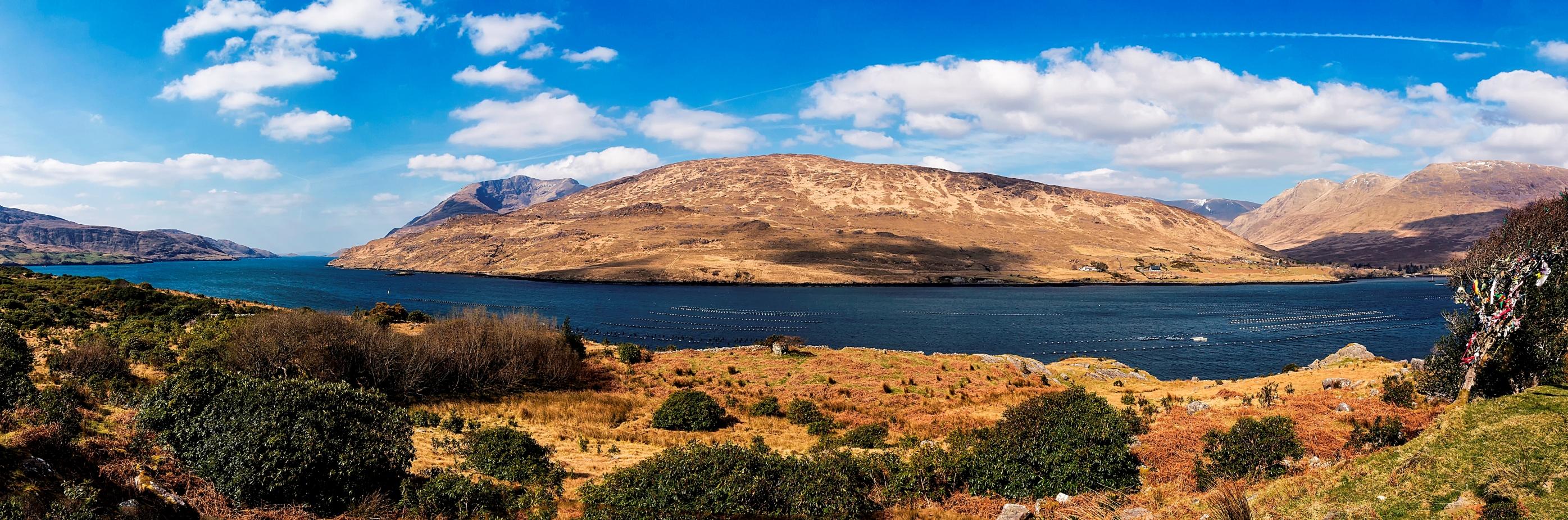 Killary fjord Wild Atlantic Way