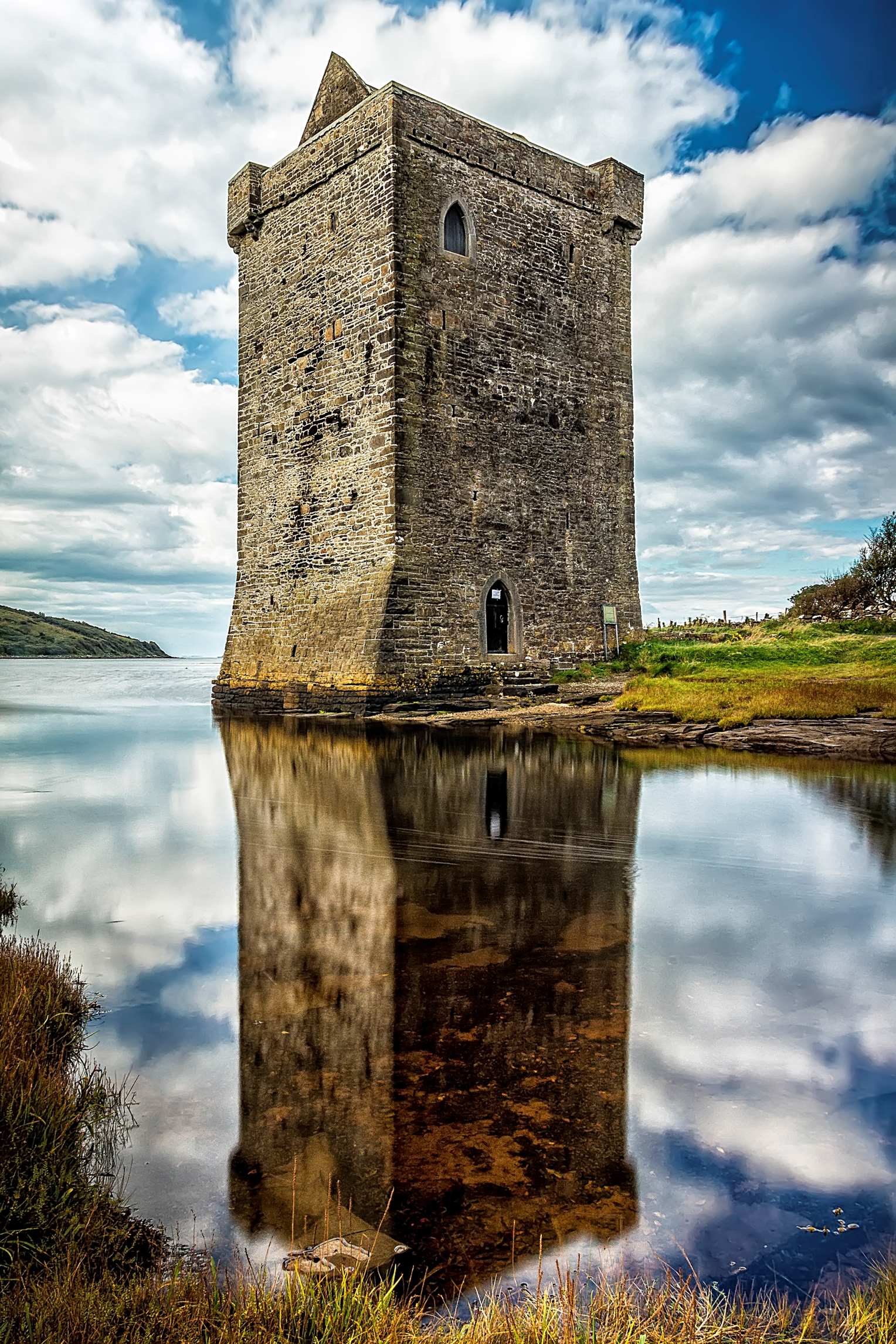 Rockfleet Castle Wild Atlantic Way Mulranny