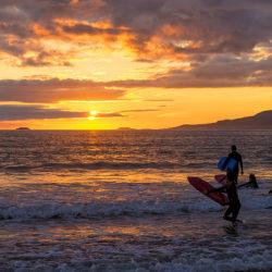 Surfing Mulranny Ireland
