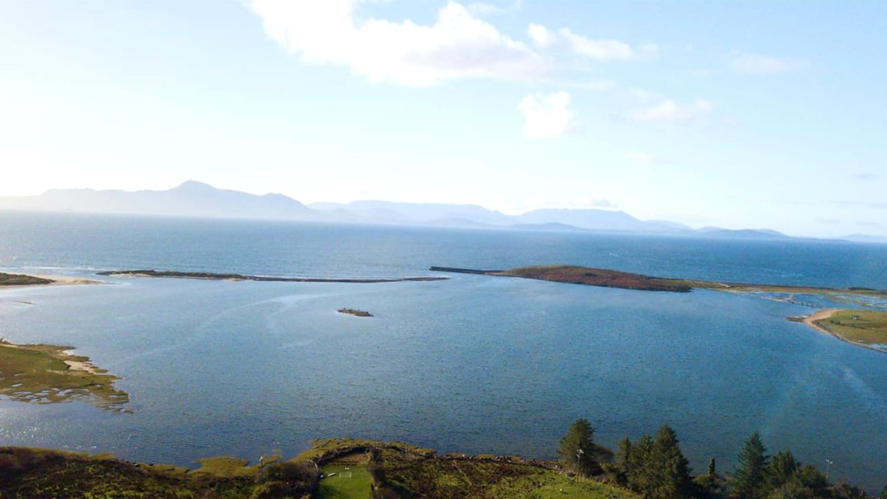 View from Mulranny House Bed & Breakfast